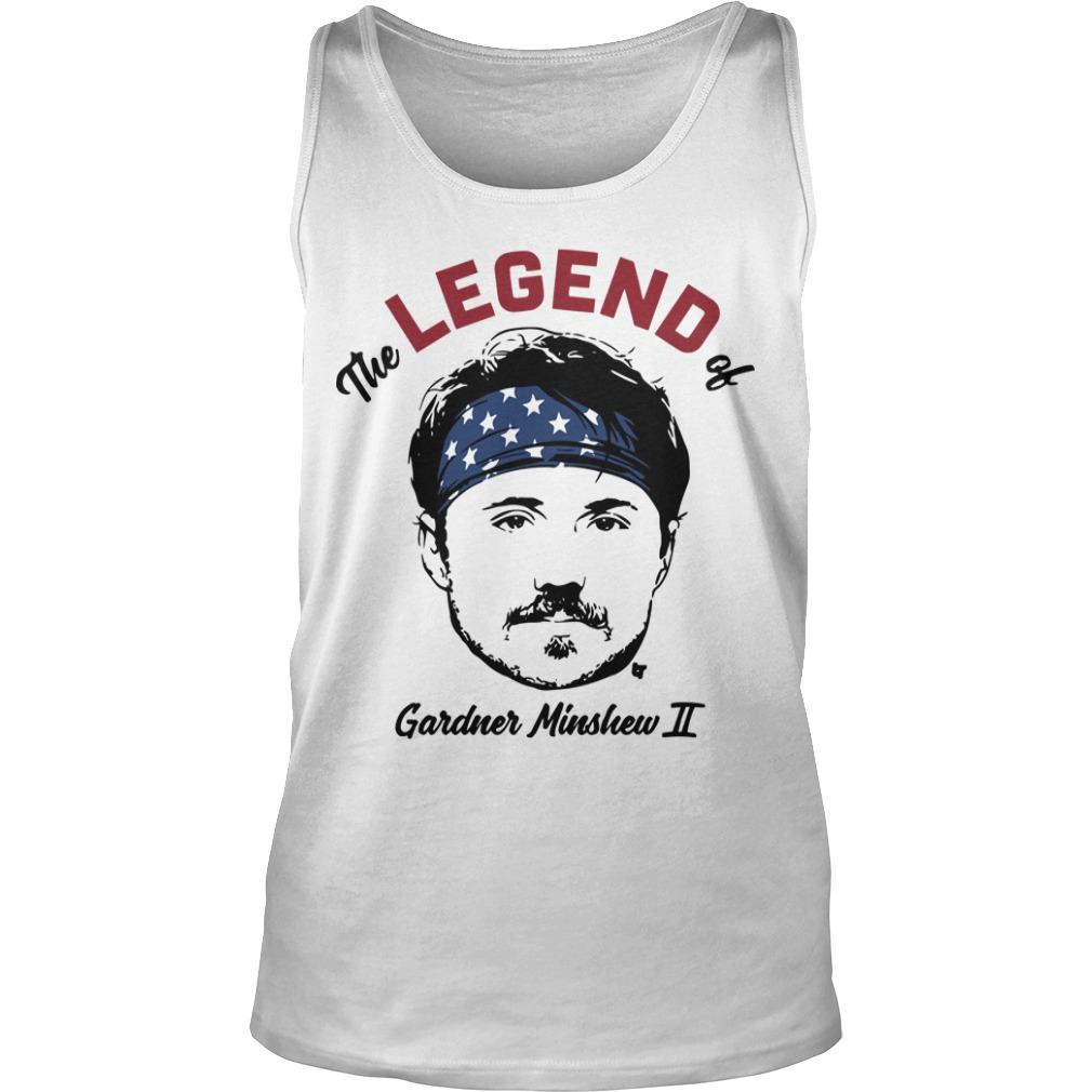 The Legend Of Gardner Minshew II Tank Top