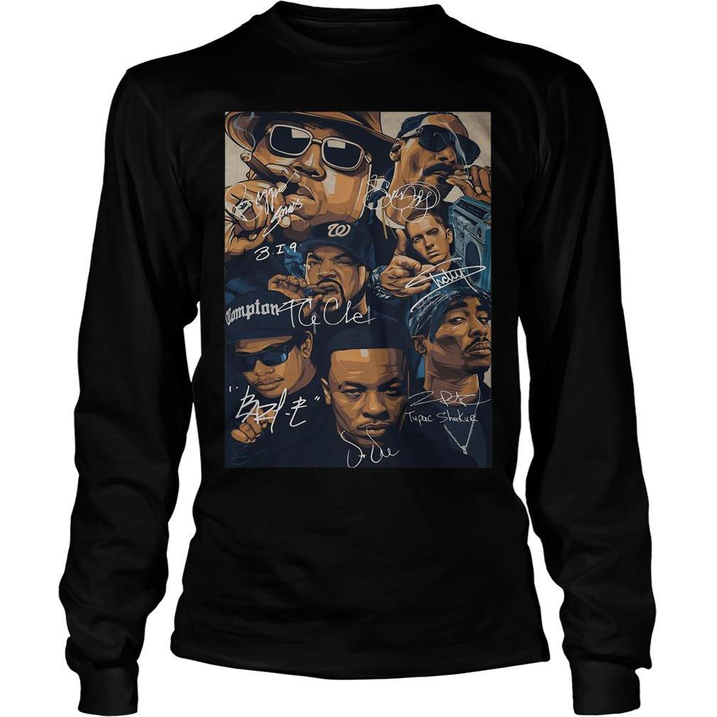 The Outlawz Poster Signatures Longsleeve