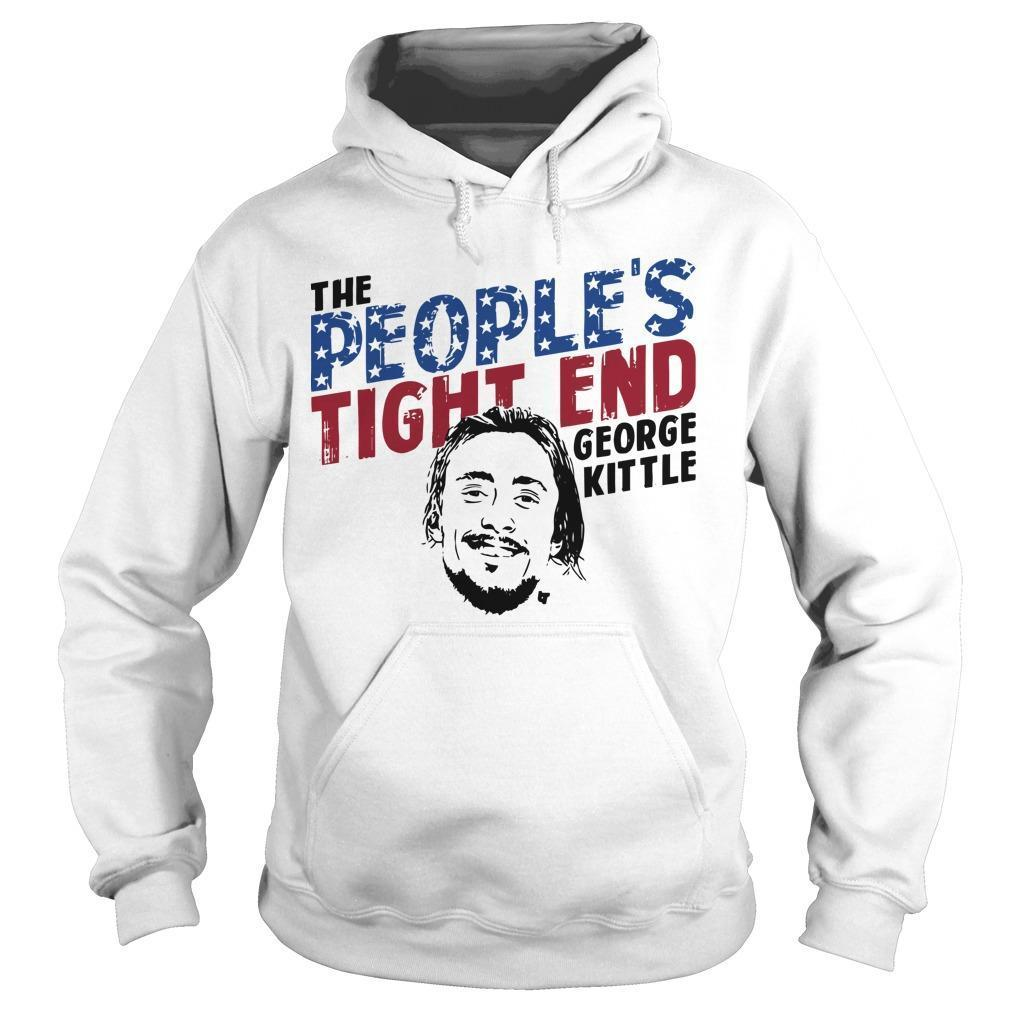 The People's Tight End George Kittle Hoodie