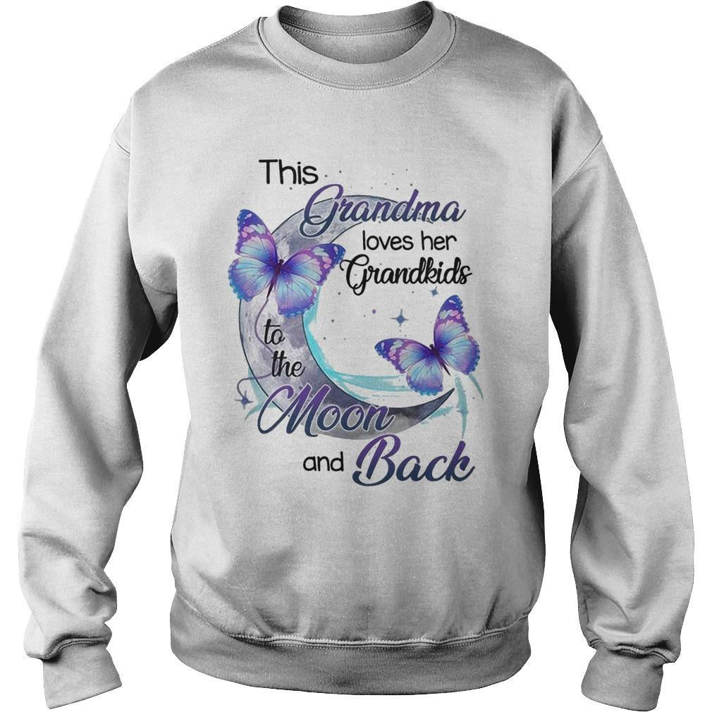 This Grandma Loves Her Grandkids To The Moon And Back Sweater