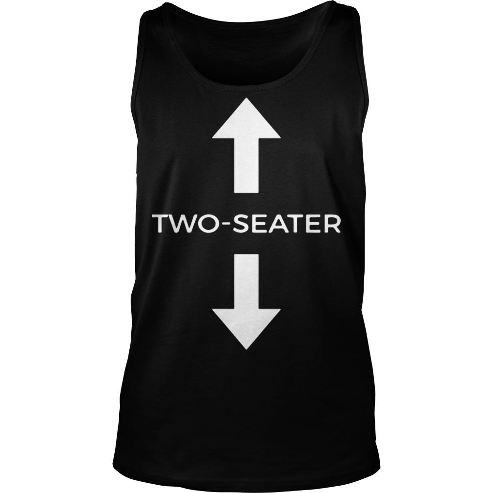 Two Seater T Meaning Tank Top