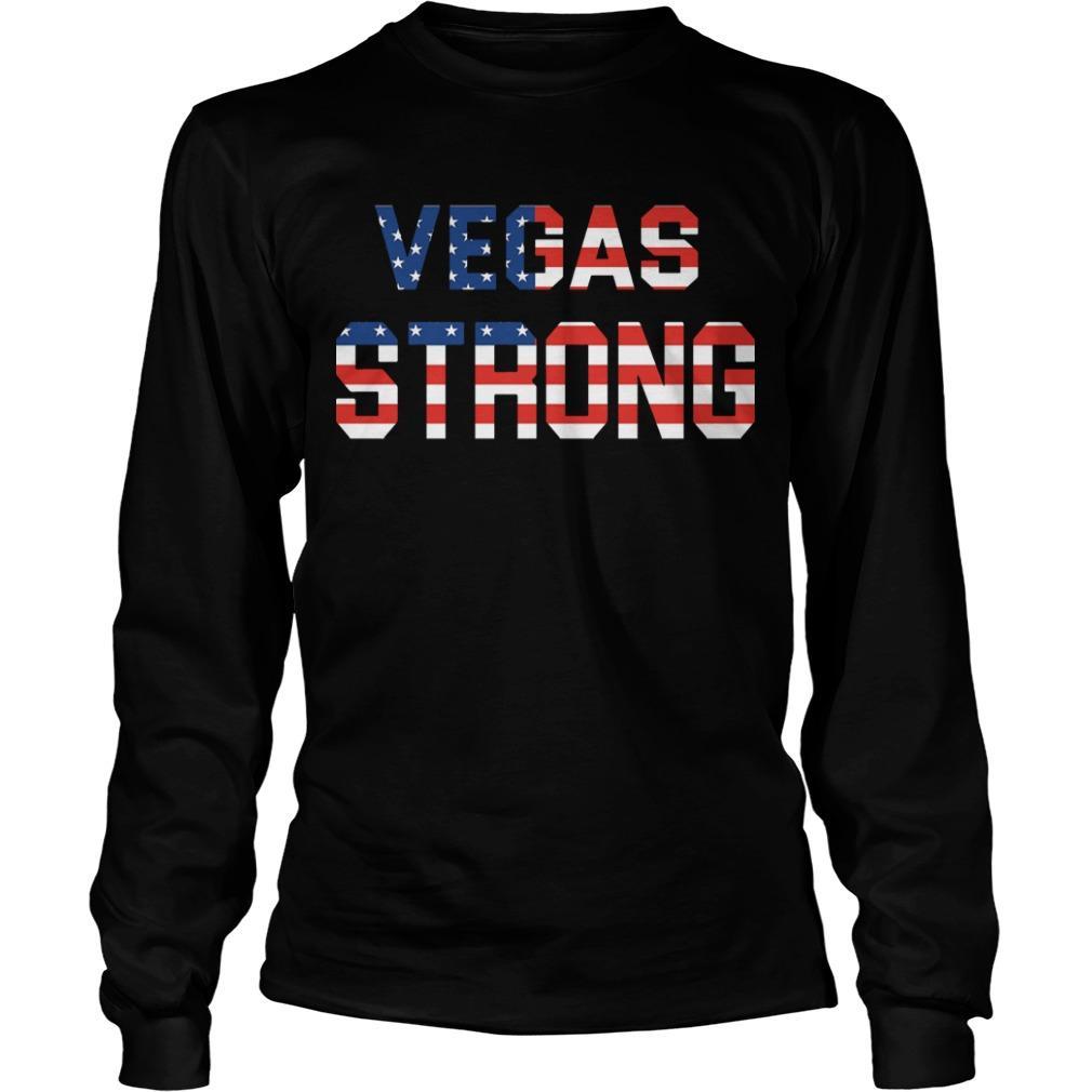 Veteran Vegas Strong Longsleeve