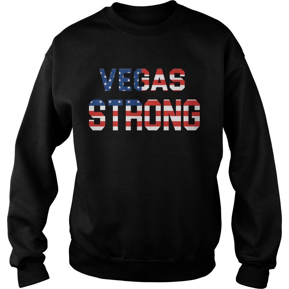 Veteran Vegas Strong Sweater