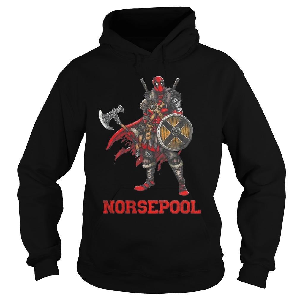 Viking Deadpool Norsepool Hoodie