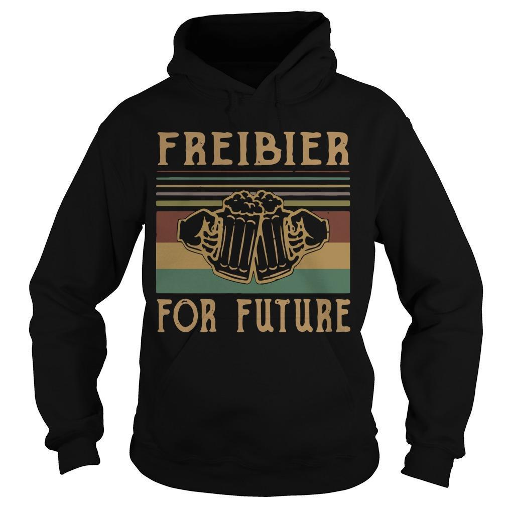 Vintage Beers Freibier For Future Hoodie