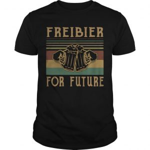 Vintage Beers Freibier For Future Shirt