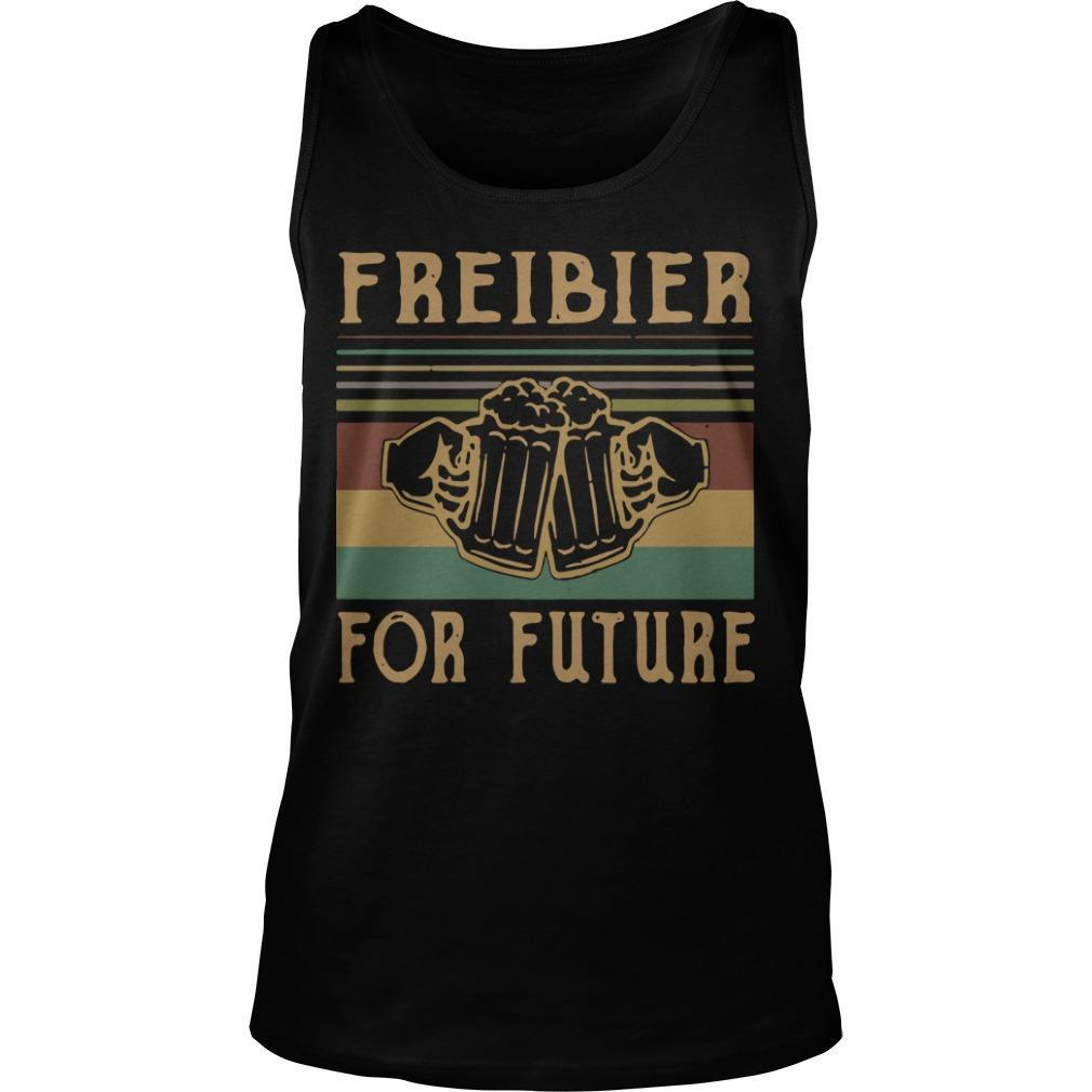 Vintage Beers Freibier For Future Tank Top