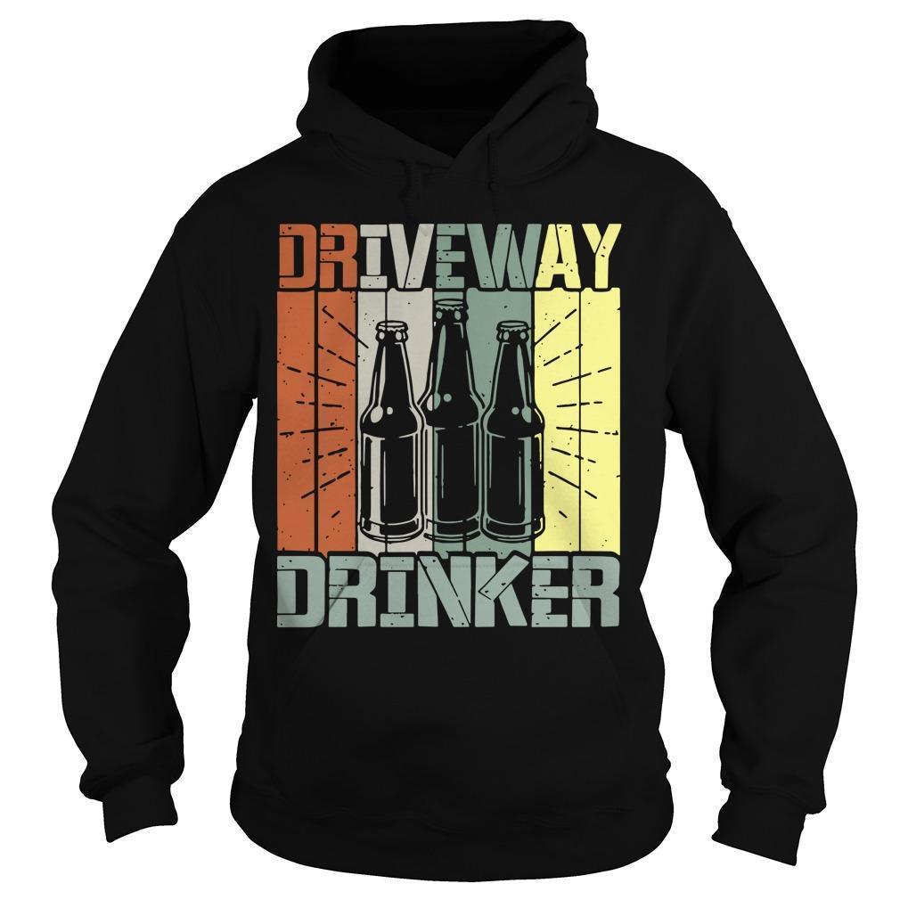 Vintage Driveway Drinker Hoodie