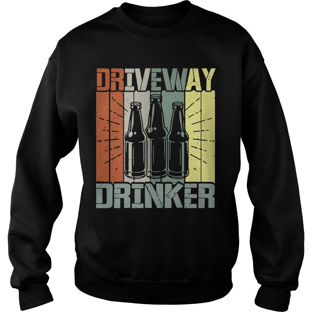 Vintage Driveway Drinker Sweater