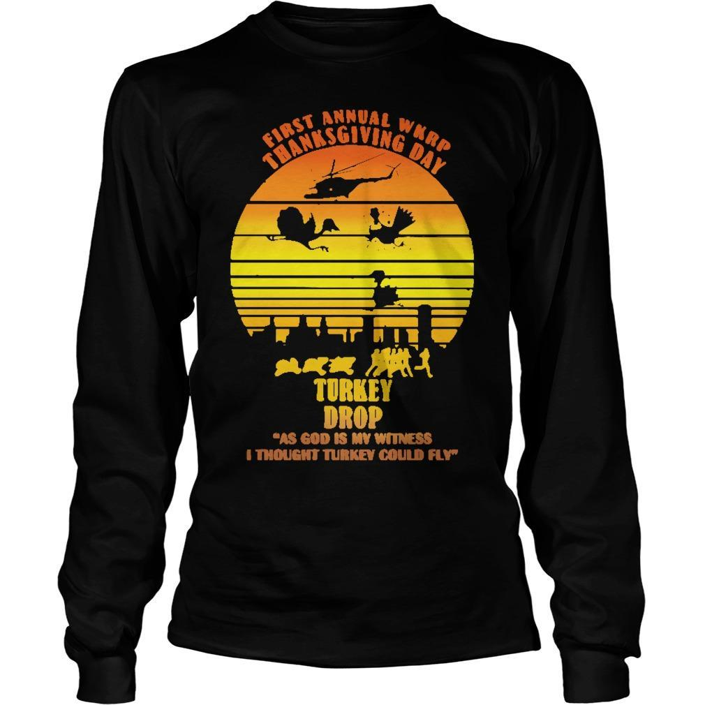 Vintage First Annual Wkrp Turkey Drop Longsleeve