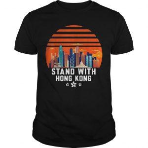 Vintage Free Hong Kong Stand With Hong Kong T Shirt