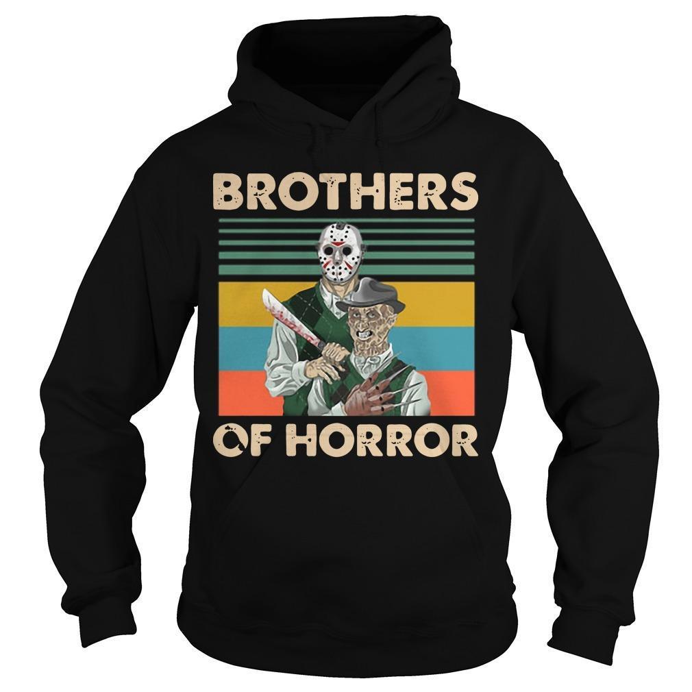 Vintage Jason Voorhees Freddy Krueger Brothers Of Horror Hoodie