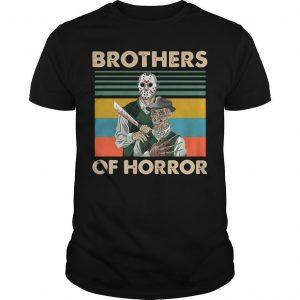 Vintage Jason Voorhees Freddy Krueger Brothers Of Horror Shirt