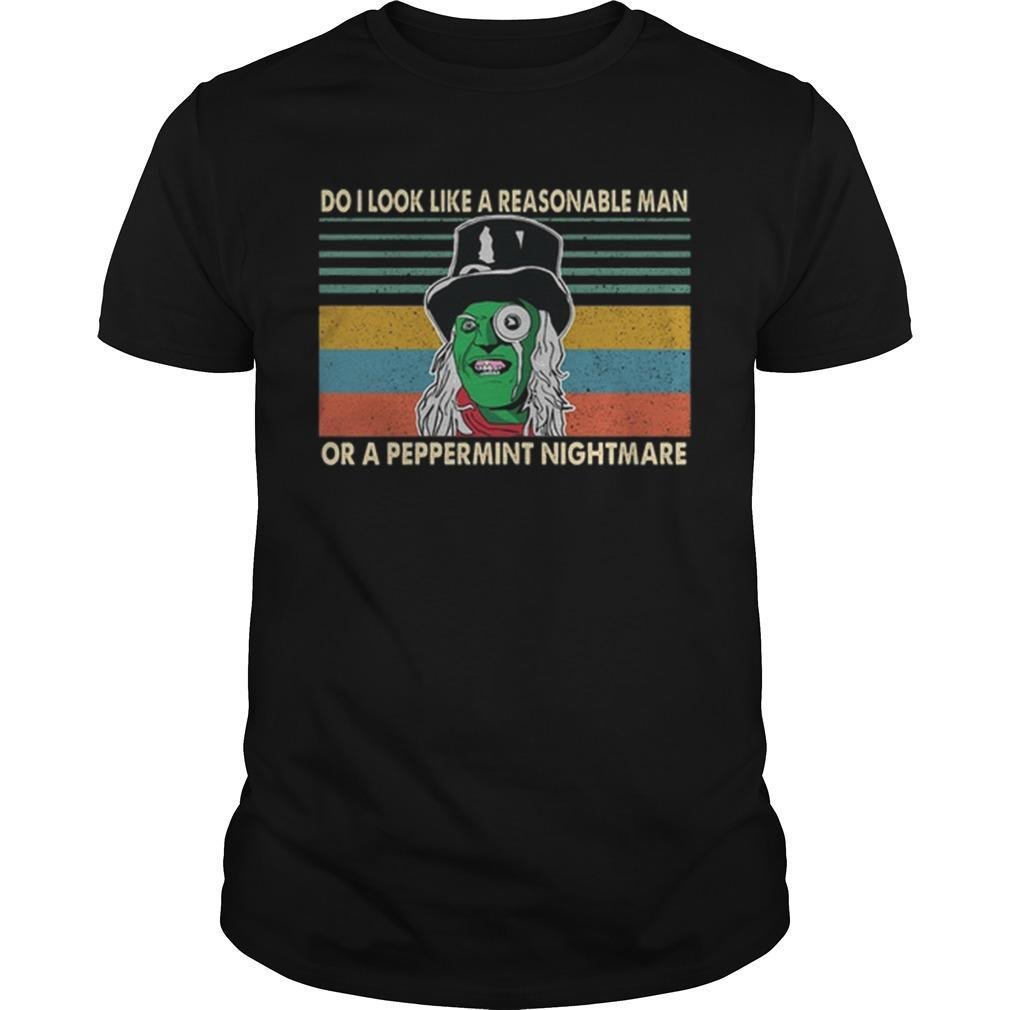 The Mighty Boosh tshirt Peppermint Nightmare top