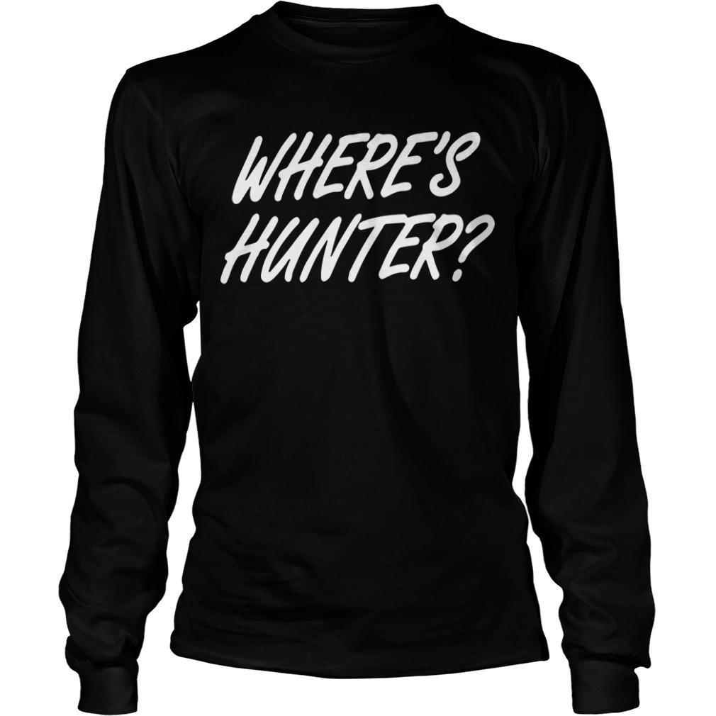 Where Is Hunter T Longsleeve