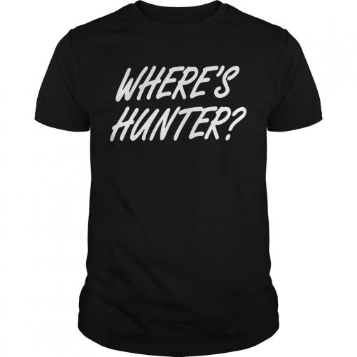 Where Is Hunter T Shirt