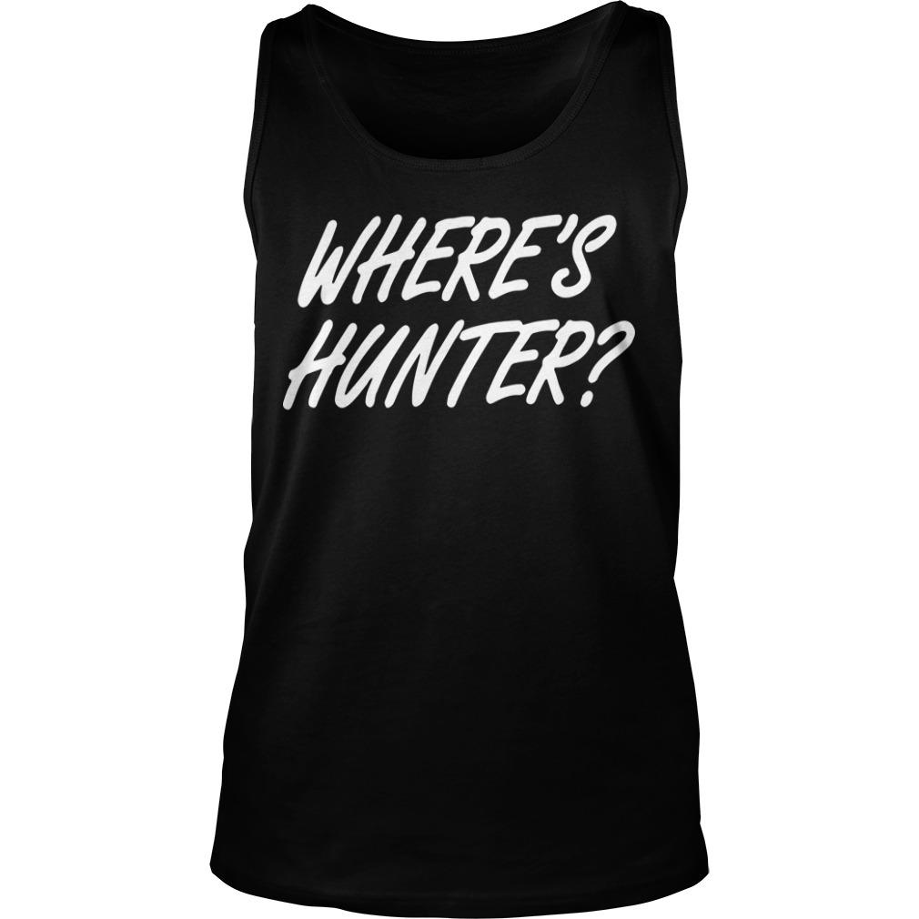 Wheres Hunter Tank Top