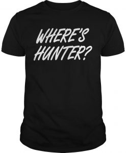 Wheres Hunter Tee Shirt