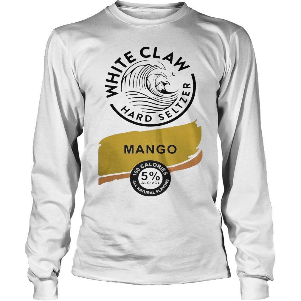 White Claw Hard Seltzer Mango Longsleeve