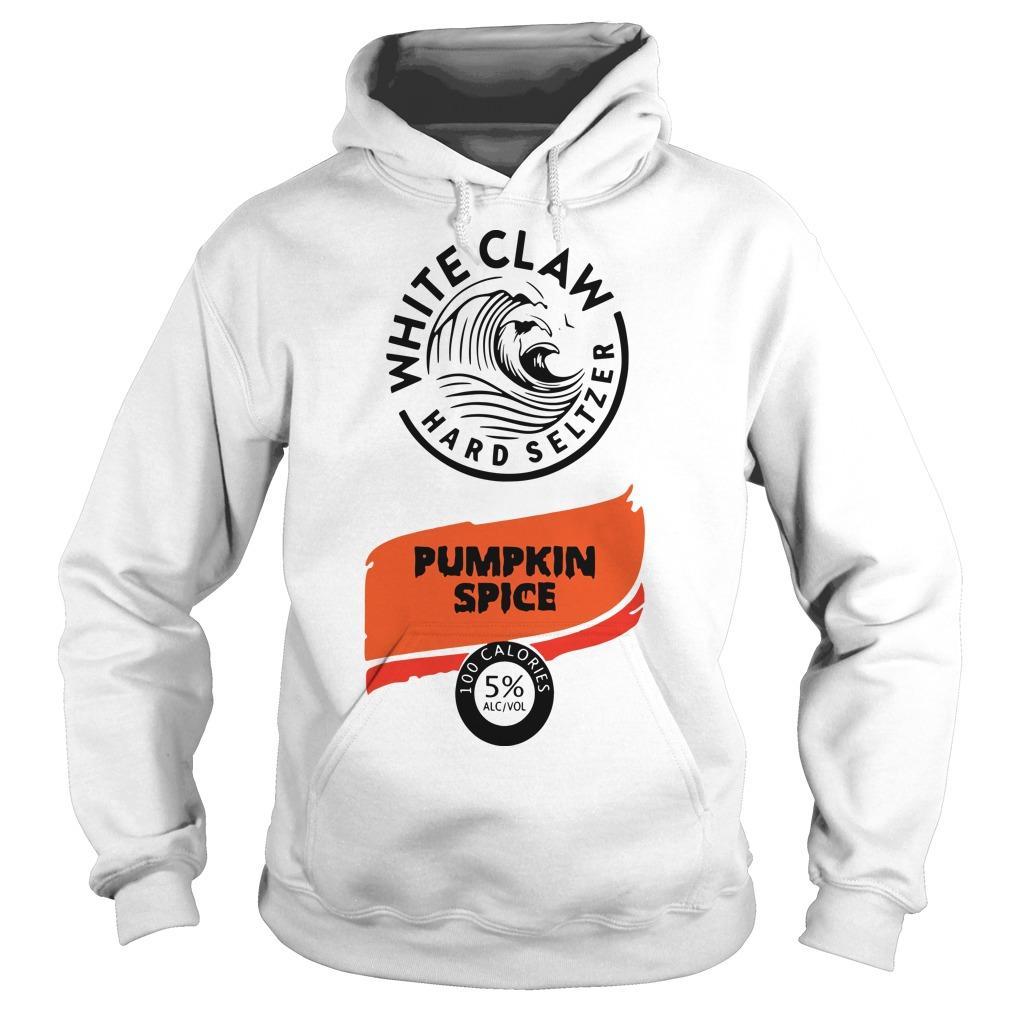 White Claw Hard Seltzer Pumpkin Spice Hoodie