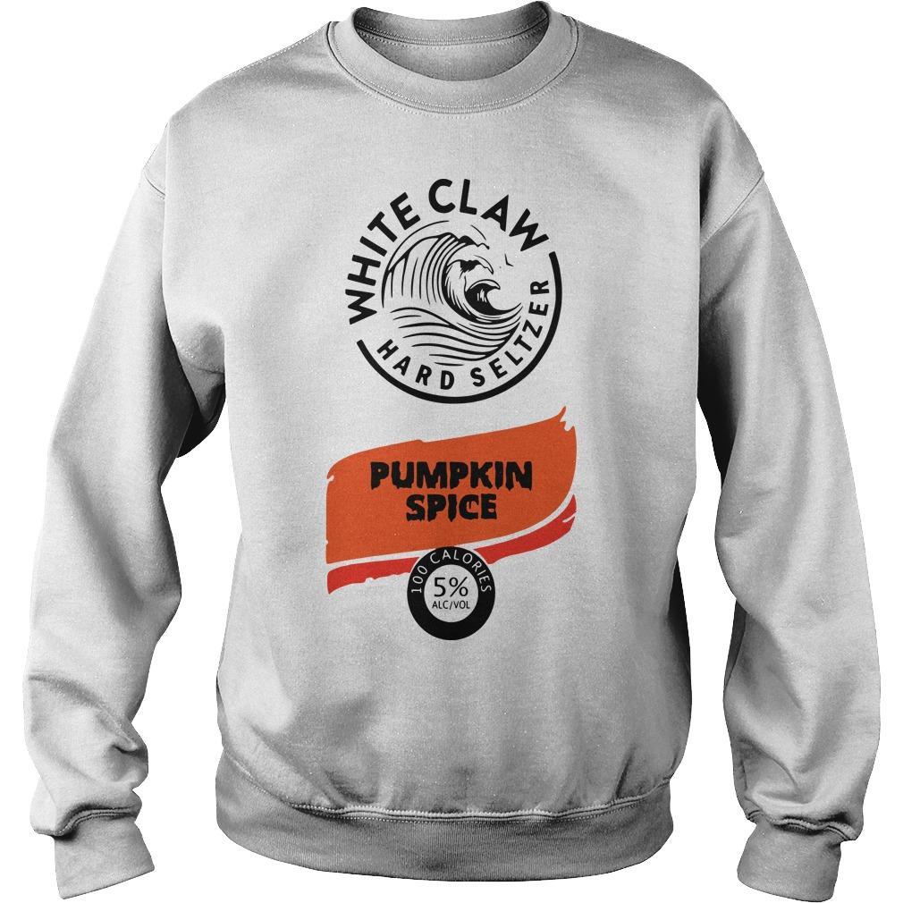 White Claw Hard Seltzer Pumpkin Spice Sweater