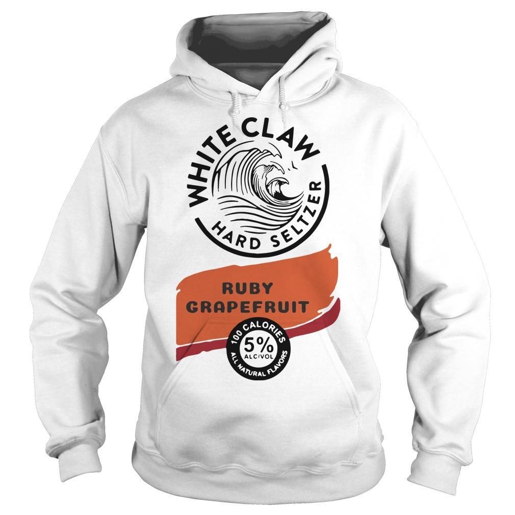 White Claw Hard Seltzer Ruby Grapefruit Hoodie