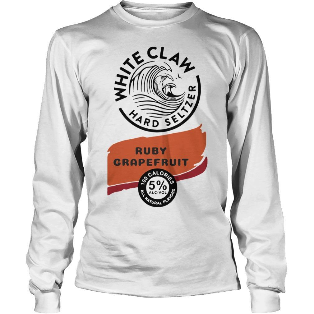 White Claw Hard Seltzer Ruby Grapefruit Longsleeve