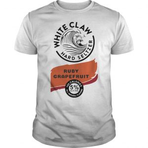 White Claw Hard Seltzer Ruby Grapefruit Shirt