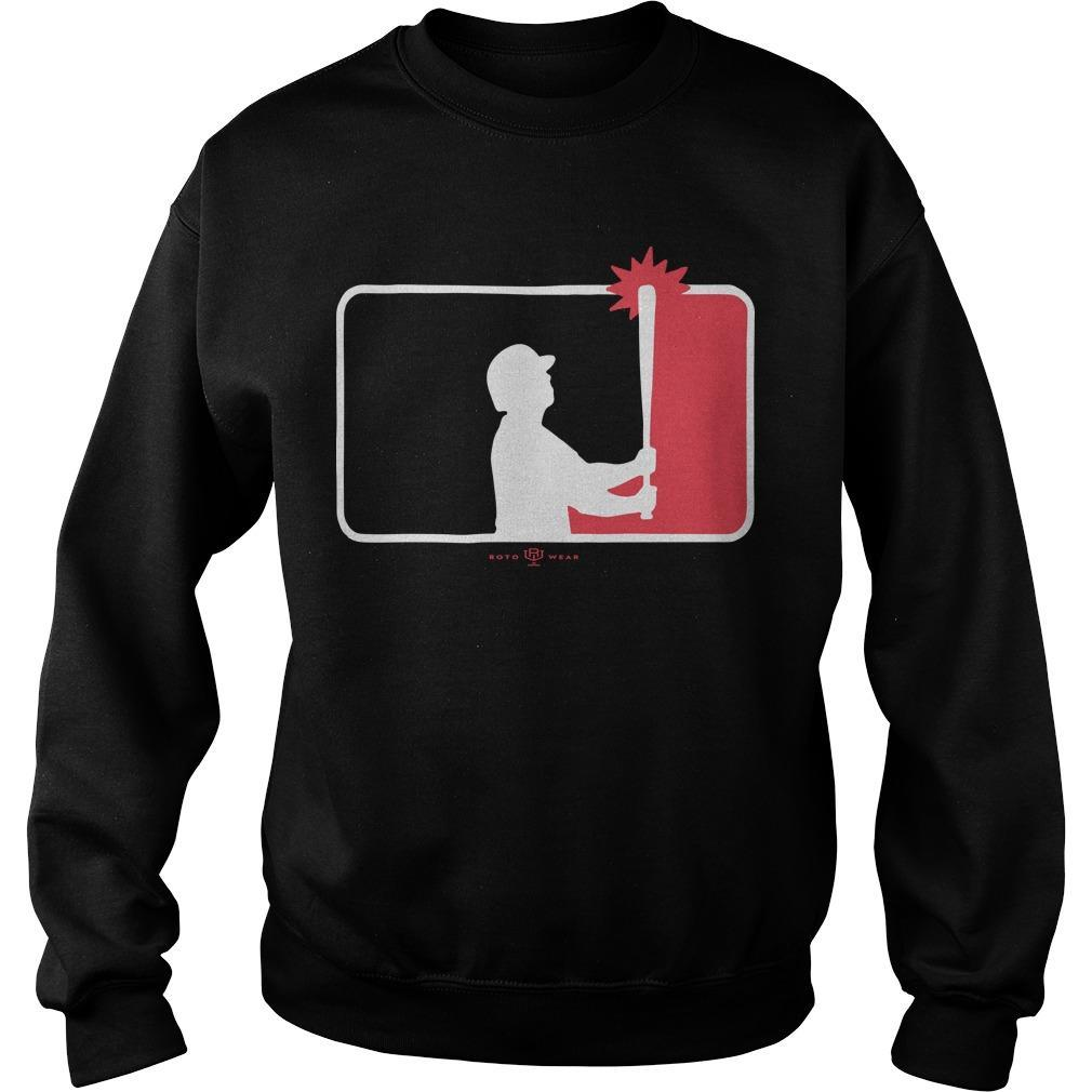 Yankees' Aaron Judge Major League Baseball Logo Sweater