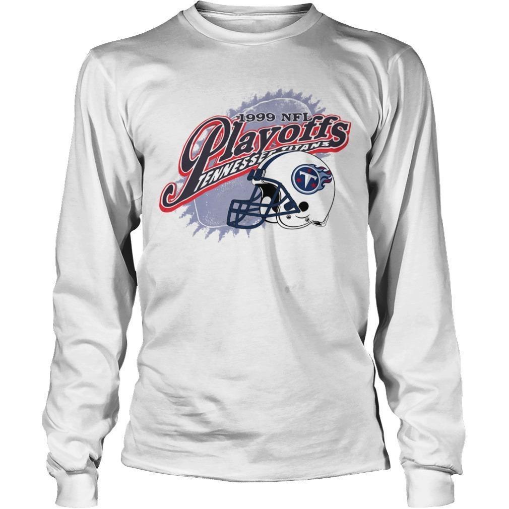 1999 Nfl Playoffs Tennessee Titans Longsleeve