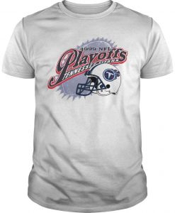 1999 Nfl Playoffs Tennessee Titans Shirt