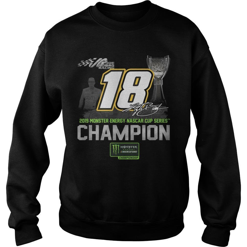 2019 Monster Energy Nascar Cup Series Champion 18 Sweater