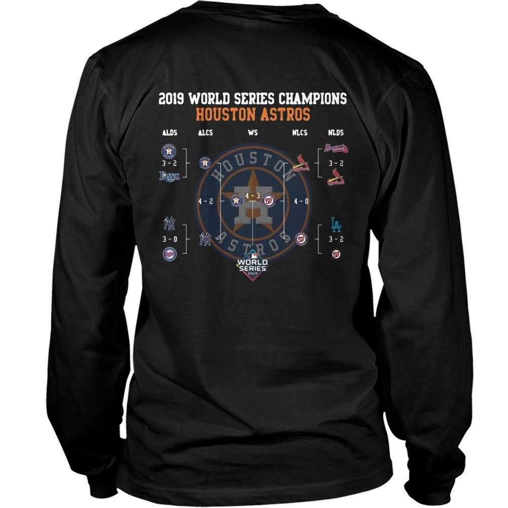 2019 World Series Champions Houston Astros Longsleeve