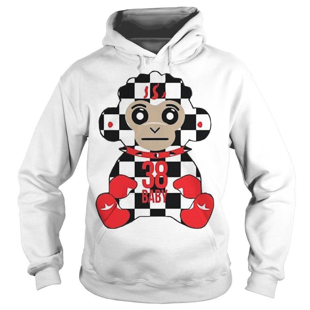 38 Baby Monkey Checkers Never Broke Again Hoodie