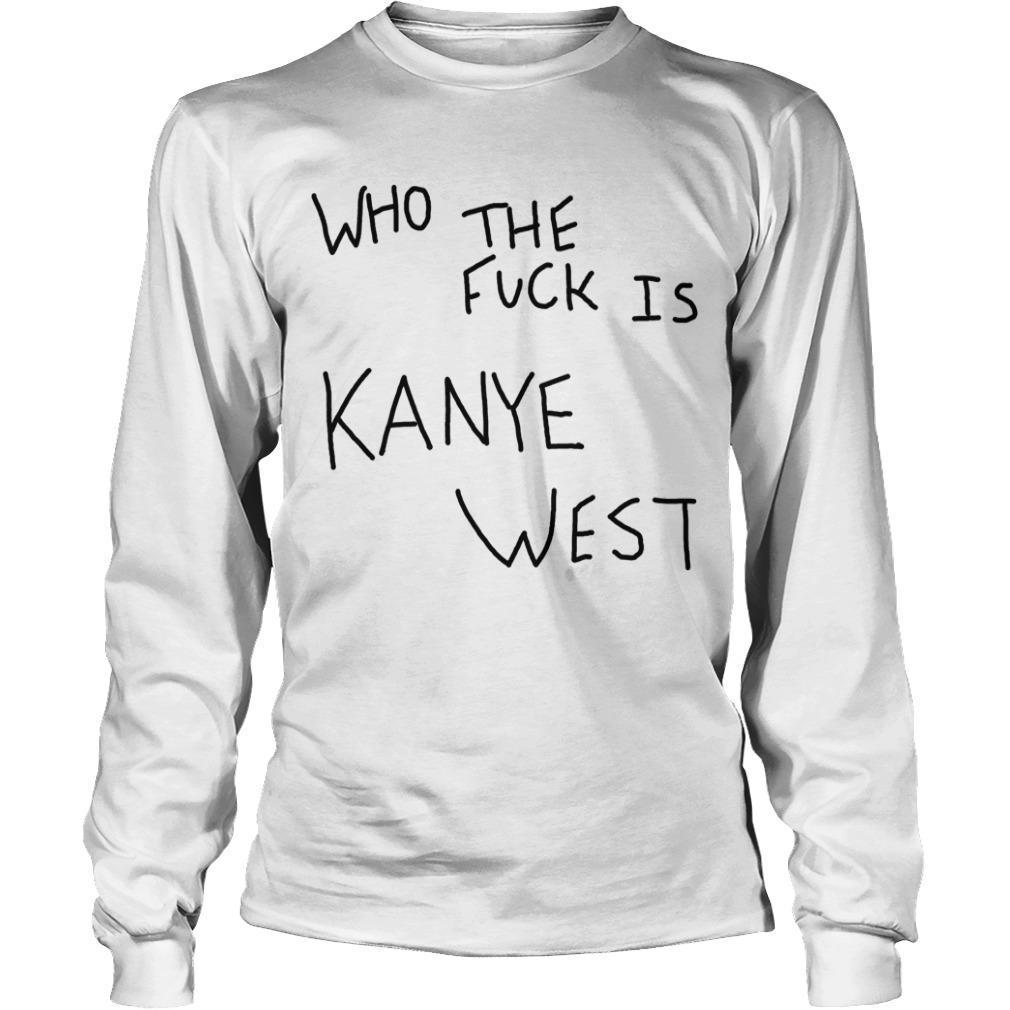 Album Cover Who The Fuck Is Kanye West Longsleeve
