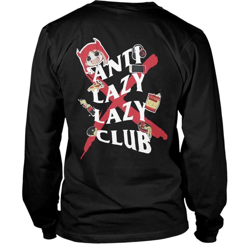 Anti Lazy Lazy Club Longsleeve