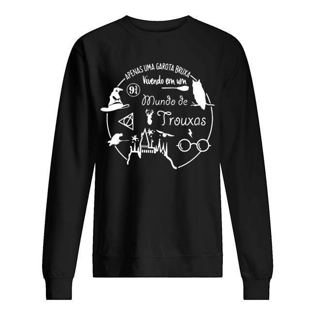 Apenas Uma Garota Bruxa Vivendo Em Um Mundo De Trouxas Sweater