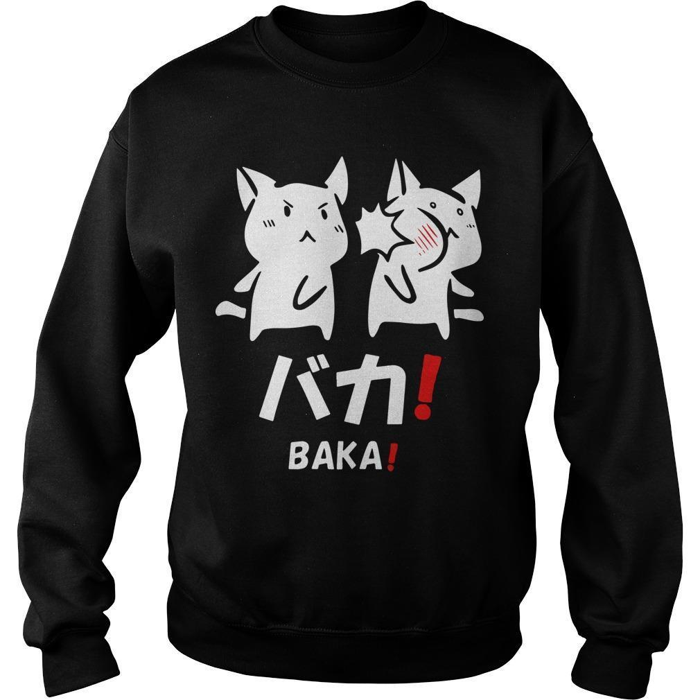 Baka Cat Sweater