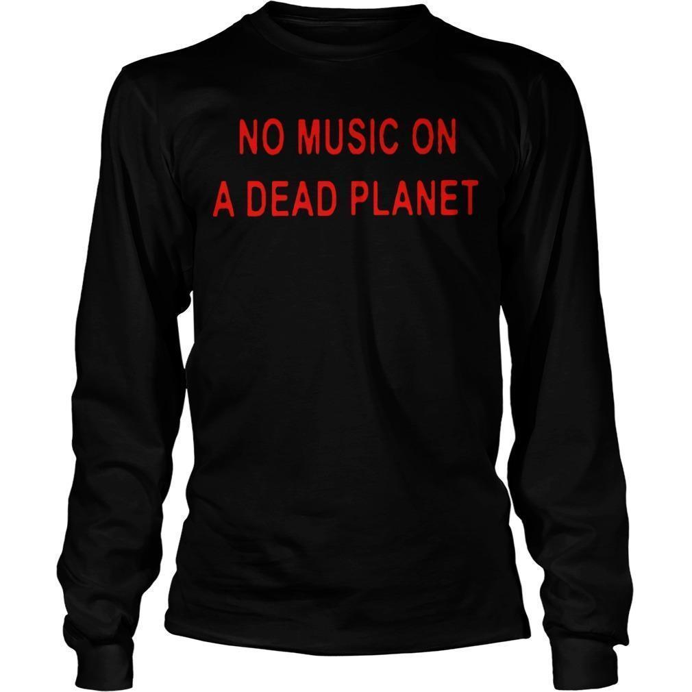 Billie Eilish No Music On A Dead Planet Longsleeve