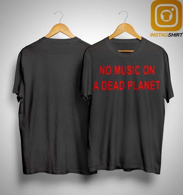 Billie Eilish No Music On A Dead Planet Shirt