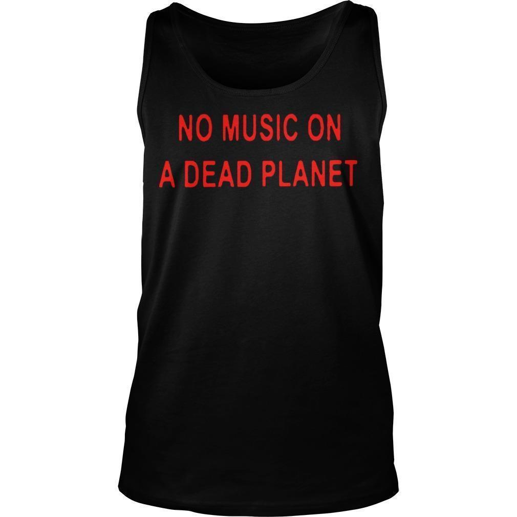Billie Eilish No Music On A Dead Planet Tank Top