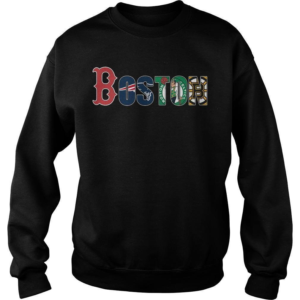 Boston Red Sox New England Patriots Celtics Bruins Sweater