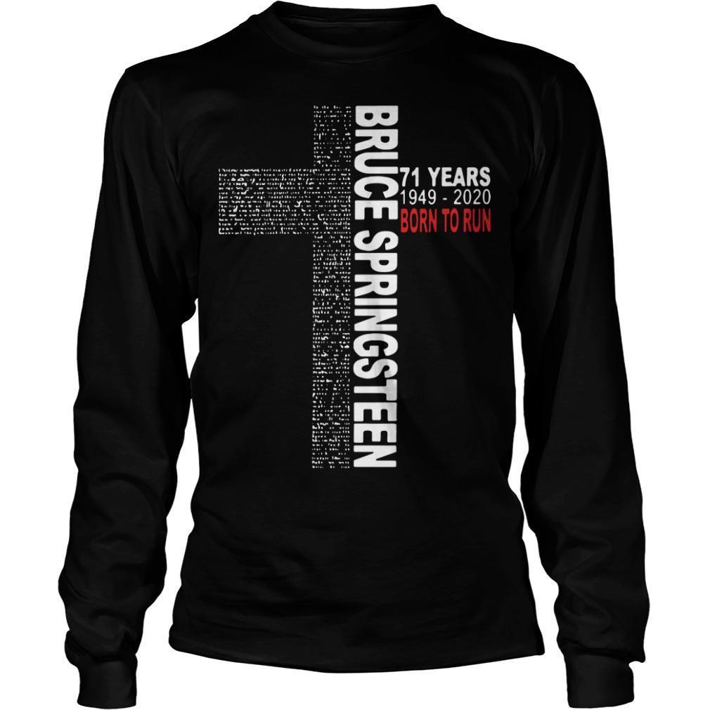 Bruce Springsteen 71 Years Born To Run Longsleeve