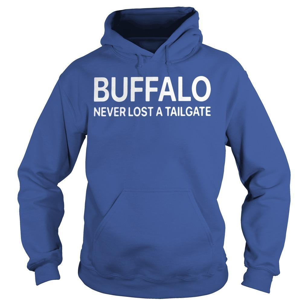 Buffalo Never Lost A Tailgate Hoodie