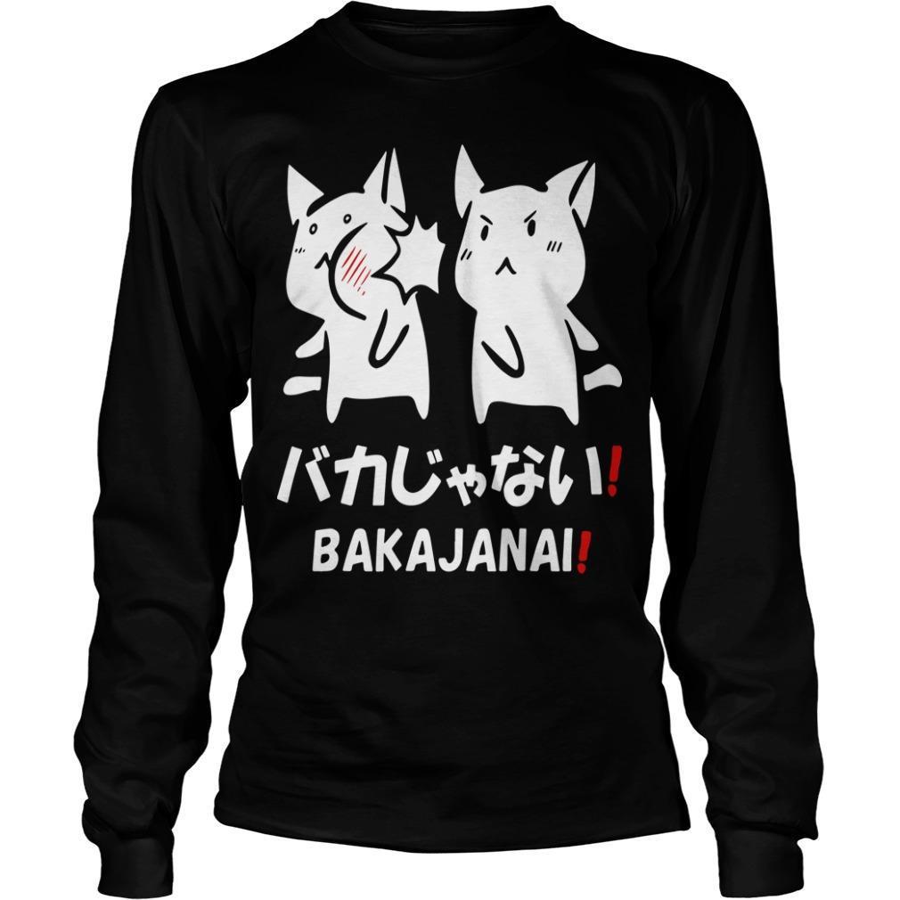 Cat Bakajanai Longsleeve