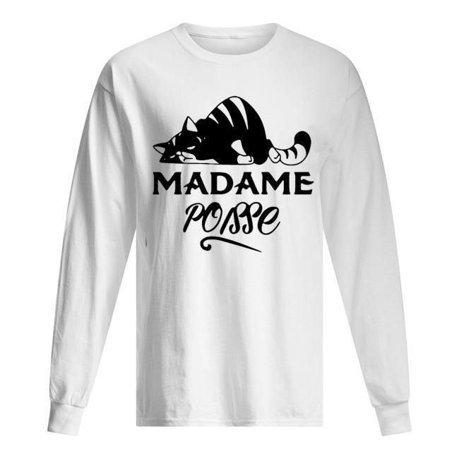 Cat Madame Poisse Longsleeve