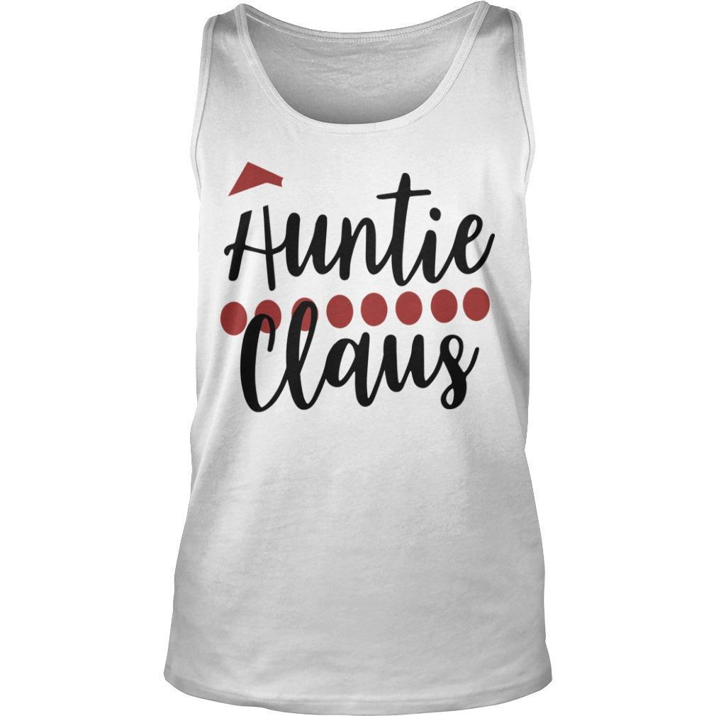 Christmas Auntie Claus Tank Top
