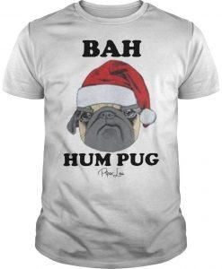 Christmas Bah Hum Pug Shirt