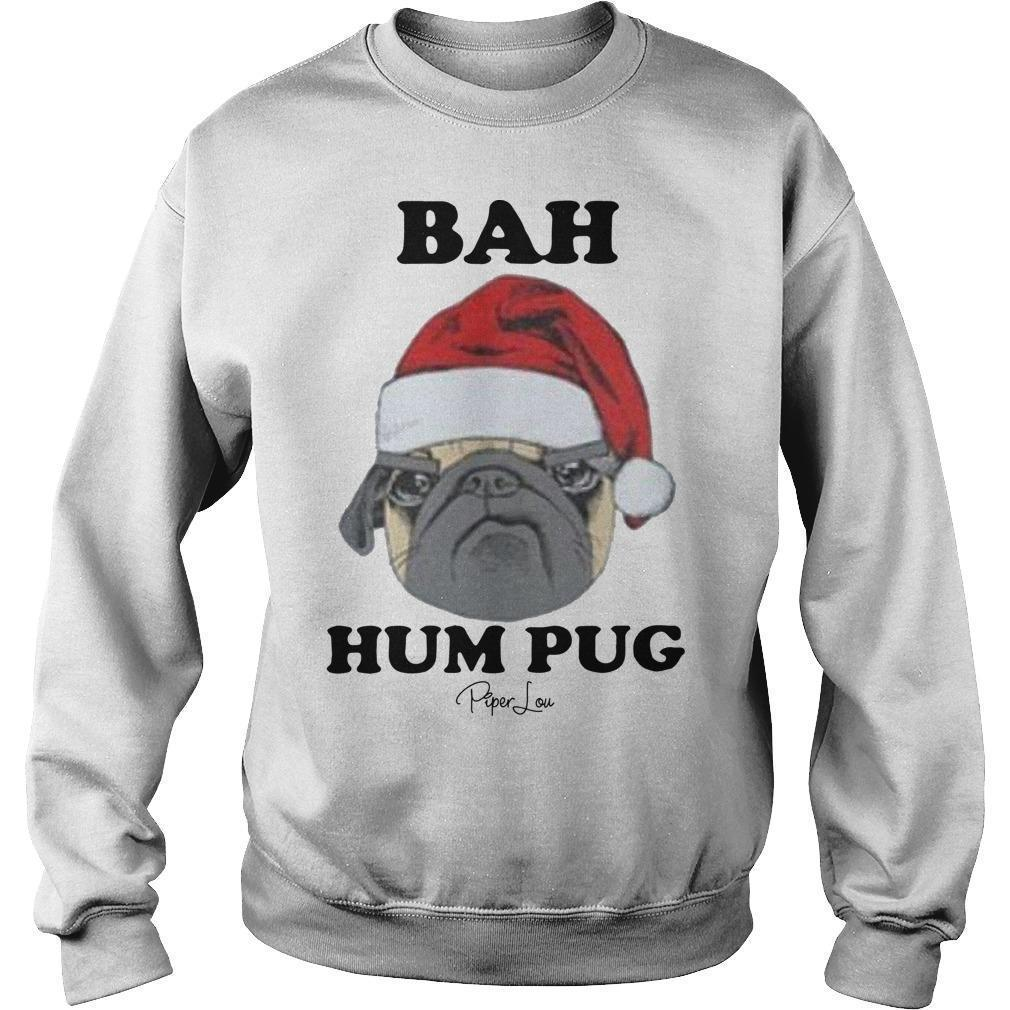 Christmas Bah Hum Pug Sweater