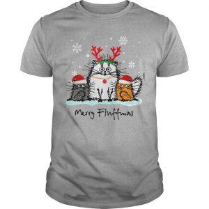 Christmas Cat Merry Fluffmas Shirt